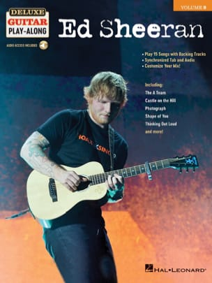 Ed Sheeran - Deluxe Guitar Play-Along Volume 9 - Ed Sheeran - Partition - di-arezzo.com