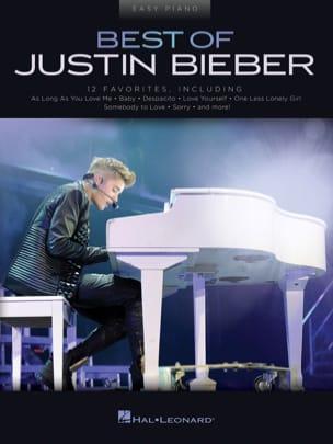 Justin Bieber - ベストオブジャスティンビーバー - イージーピアノ - 楽譜 - di-arezzo.jp