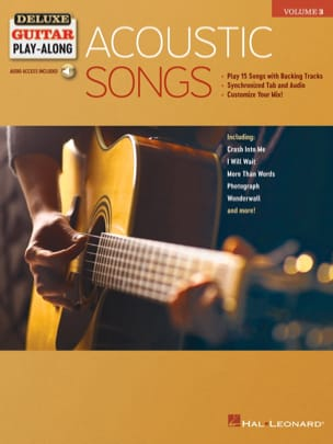 Deluxe Guitar Play-Along Volume 3 - Acoustic Songs - Partition - di-arezzo.fr