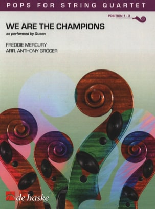 Queen - We Are the Champions - Pops for String Quartet - Partition - di-arezzo.fr