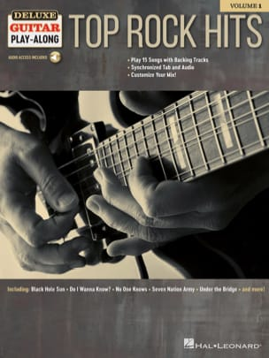 - Deluxe Guitar Play-Along Volume 1 - Top Rock Hits - Partition - di-arezzo.fr