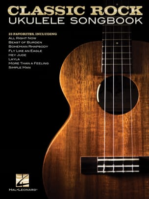 - Classic Rock Ukulele Songbook - Partition - di-arezzo.fr