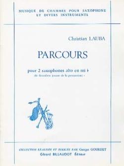 Parcours Christian Lauba Partition Saxophone - laflutedepan