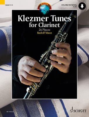 Klezmer Tunes pour Clarinette Traditionnel Partition laflutedepan