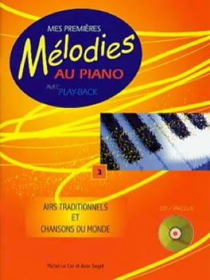 Mes Premières Mélodies au Piano - My First Melodies on Piano Volume 2 - Sheet Music - di-arezzo.co.uk