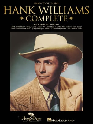 Hank Williams - Complete - Partition - di-arezzo.fr