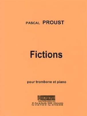 Fictions Pascal Proust Partition Trombone - laflutedepan