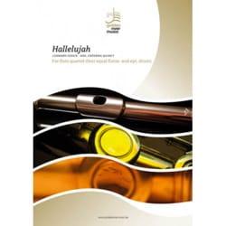 Hallelujah - Quatuor de Flûtes Leonard Cohen Partition laflutedepan