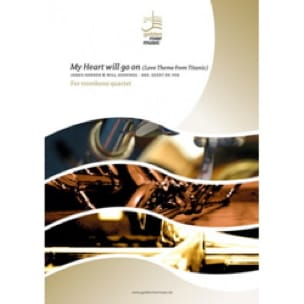 James Horner - My Heart Will Go On - Quatuor de Trombones - Partition - di-arezzo.fr
