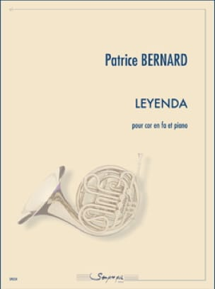 Leyenda Patrice Bernard Partition Cor - laflutedepan