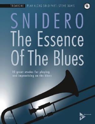 The Essence Of The Blues Jim Snidero Partition Trombone - laflutedepan