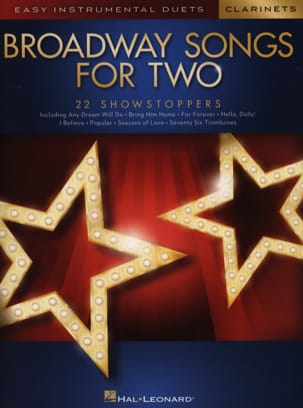 - Broadway Songs for Two Clarinets - Sheet Music - di-arezzo.com