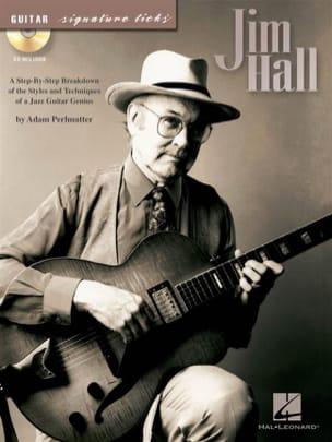 Jim Hall - ギターのシグネチャが刻まれます - 楽譜 - di-arezzo.jp