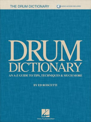 Ed Roscetti - Drum Dictionary - Partition - di-arezzo.fr