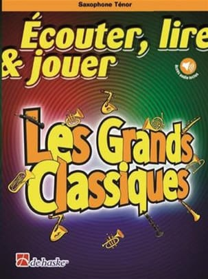 DE HASKE - Play Play and Play - The Great Classics - Tenor Saxophone - Sheet Music - di-arezzo.com