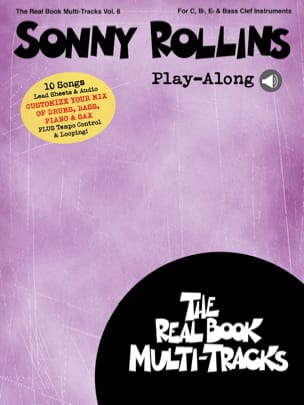 Sonny Rollins - Real Book Multi-Track Volume 6 - Sonny Rollins Play-Along - Sheet Music - di-arezzo.co.uk