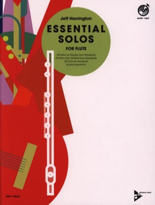 Essential Solos for Flute Jeff Harrington Partition laflutedepan