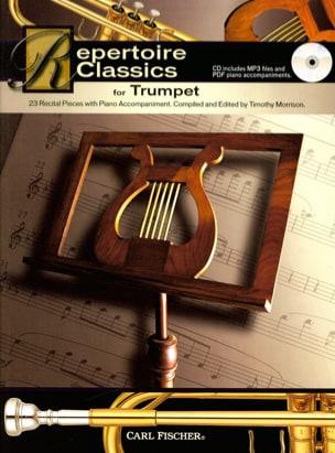 Repertoire Classics for Trumpet - Partition - di-arezzo.fr