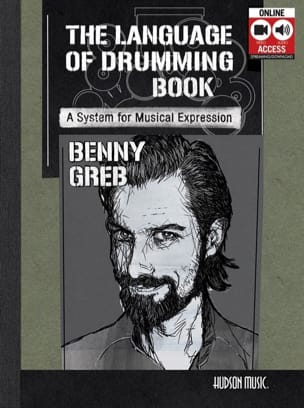 The Language of Drumming Benny Greb Partition Batterie - laflutedepan