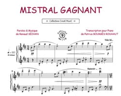 RENAUD - Mistral Gagnant - Sheet Music - di-arezzo.co.uk