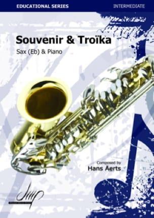 Souvenir & Troïka Hans Aerts Partition Saxophone - laflutedepan