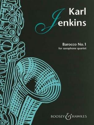 Barocco No.1 pour Quatuor de Saxophones - laflutedepan.com