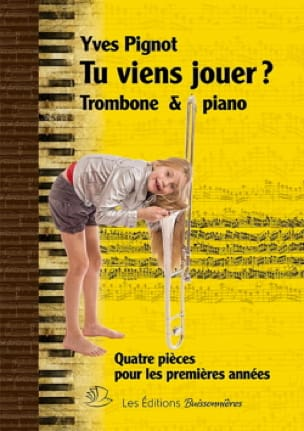 Yves Pignot - Tu Viens Jouer ? - Partition - di-arezzo.fr