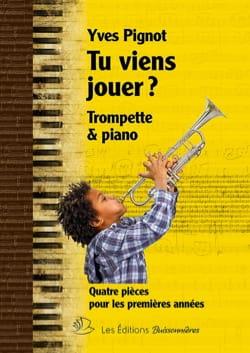 Tu Viens Jouer ? - Yves Pignot - Partition - laflutedepan.com