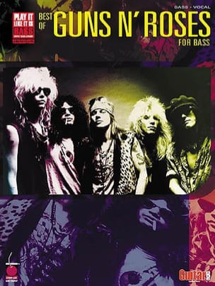 Guns N' Roses - Best of Guns N' Roses for Bass - Partition - di-arezzo.fr