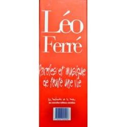 Léo Ferré - Paroles Et Musiques de Toute Une Vie - Coffret Intégrale des 8 Volumes - Partition - di-arezzo.fr