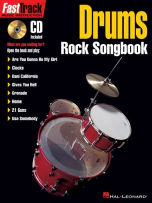 - FastTrack Drums - Rock Songbook - Partition - di-arezzo.fr
