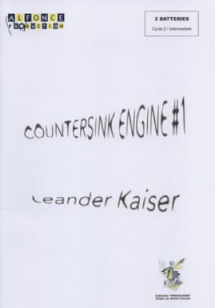 Countersink Engine #1 Leander Kaiser Partition laflutedepan