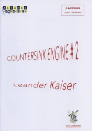 Countersink Engine #2 Leander Kaiser Partition laflutedepan
