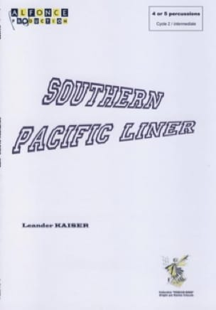 Leander Kaiser - Southern Pacific Liner - Sheet Music - di-arezzo.com