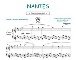 Barbara - Nantes - Sheet Music - di-arezzo.co.uk