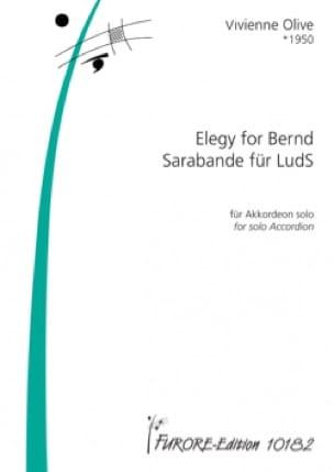 Vivienne Olive - Elegy for Bernd - Sarabande for LudS - Sheet Music - di-arezzo.co.uk