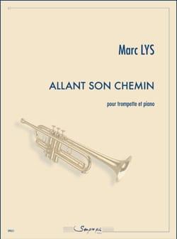 Marc Lys - Allant Son Chemin - Partition - di-arezzo.fr