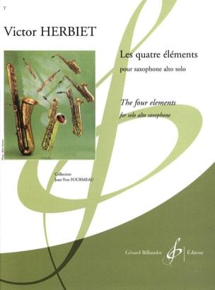 Victor Herbiet - Les Quatre Eléments - Partition - di-arezzo.fr