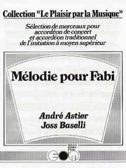 Mélodie pour Fabi André Astier & Joss Baselli Partition laflutedepan