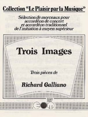 Richard Galliano - Trois Images - Partition - di-arezzo.fr