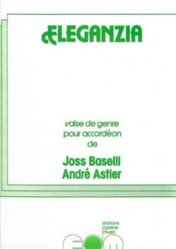 Joss Baselli & André Astier - Eleganzia - Partition - di-arezzo.fr