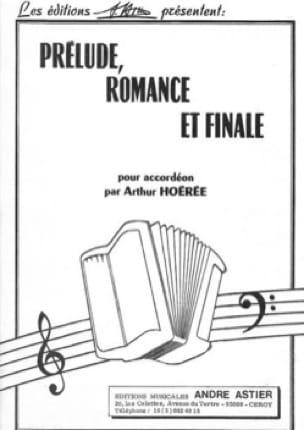 Arthur Hoérée - Prelude, Romance and Finale - Sheet Music - di-arezzo.co.uk