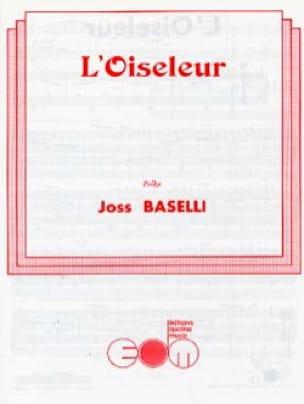 L'Oiseleur - Joss Baselli - Partition - Accordéon - laflutedepan.com