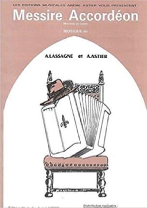 André Astier & A. Lassagne - Messire Accordéon - Partition - di-arezzo.fr