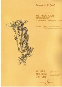 Fernand Lelong - ABC of the Young Tubist Volume 1 - Sheet Music - di-arezzo.co.uk