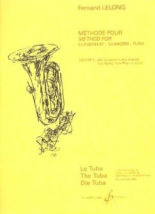 Fernand Lelong - ABC du Jeune Tubiste Volume 2 - Partition - di-arezzo.fr