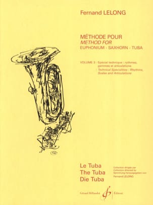 Fernand Lelong - ABC of the Young Tubist Volume 3 - Sheet Music - di-arezzo.co.uk