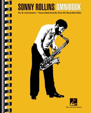Sonny Rollins - Sonny Rollins - Omnibook Bb - Sheet Music - di-arezzo.co.uk