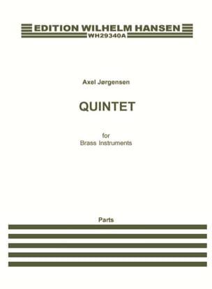 Borup Axel Jorgensen - Quintet For Brass Instruments - Separate Parts - Sheet Music - di-arezzo.com