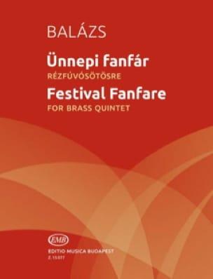 Arpad Balazs - Festival Fanfare - Partition - di-arezzo.fr